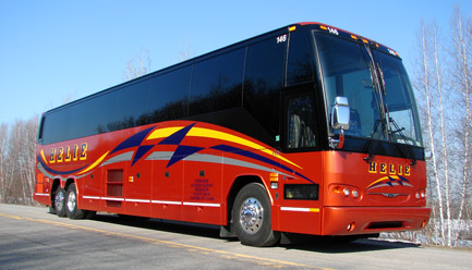 Motor coach travel : bus and minibus rentals